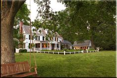 Inside Antebellum Homes | Another view of the amazing gardens and surrounding property. This ...