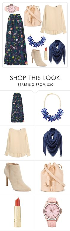 """[ P e o n y ]"" by haranata ❤ liked on Polyvore featuring Kate Spade, Theory, Loewe, Pure Navy, Building Block, Axiology, SO & CO and hijab"