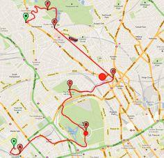 itinerario a piedi a Londra, giorno 2 - little venice, regent park, primrose hill, camden town, hampstead heath