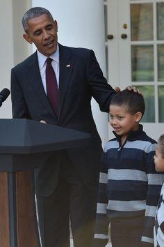 11 Dad Jokes President Obama Shamelessly Stuffed (Get it?) Into His Turkey Pardoning Speech