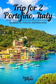 My recommendation is to go to Portofino, Italy, at least once in a lifetime! Twice would be even better. Be sure and stay at the Hotel Splendido. You won't regret it! Cruise Italy, Italy Vacation, Italy Travel, Travel Europe, Italy Trip, Holiday Destinations, Vacation Destinations, Places To Travel, Places To See