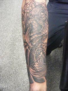 koi forearm tattoo - Google Search