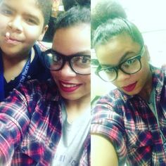 My son. He said let me get in your selfie! The source of my...