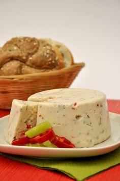 Vegan Spicy Italian Almond 'Cheese'.