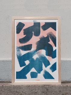 Shapes & Stories risograph print 1 by Studio Marije Pasman