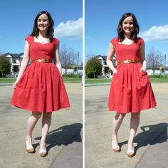 The Cambie Dress (from Sewaholic)