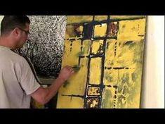 peinture abstraite ..(le vieux mur de asilah) Réalisée par l'artiste peintre Arrach Mohamed . Flower Crafts, Flower Art, Shabby Chic Frames, Gothic Art, Cubism, Art Tutorials, Abstract, Youtube, Painting