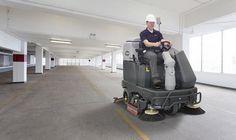 SC6500 gulvvasker til rengøring af store områder