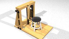 A portable jeweler's bench - Larry Seiger - Progetto di banchetto da orafo portatile