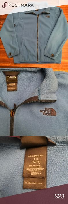 The North Face children's fleece jacket The North Face children's fleece jacket Gently used Great for wearing under a ski jacket or separately as a light jacket. The North Face Jackets & Coats