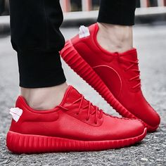 関連画像 Sneaker Outfits, Red Sneakers Outfit, Yeezy, Adidas Sneakers, Shoes, Fashion, Red Trainers, Moda, Zapatos