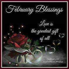 February Blessings