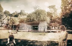 RAZVAN BARSAN + PARTNERS Design Competitions, Pavilion, London, Architecture, Outdoor, Arquitetura, Outdoors, Outdoor Games, Architecture Illustrations