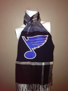 St Louis Blues Scarf. $25.00, via Etsy.