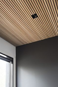 "🧲""Luck is a dividend of sweat. The more you sweat, the luckier you get."" 🧲""Luck is a dividend of sweat. The more you sweat, the luckier you get. Wood Slat Wall, House Design, Blue Home Decor, Timber Ceiling, Ceiling, Wooden Ceilings, Wood Slat Ceiling, Wood Slats, House Colors"