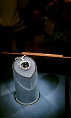 .the Hope diamond Smithsonian Museum of Natural History.  This is one of the things I clearly remember seeing here