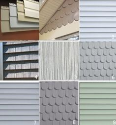 Options For Fancy Cut Shingles Typically Used In The