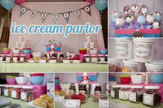 Ice Cream Parlor Party, amazing!