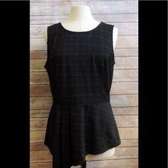 I just added this to my closet on Poshmark: WHITE HOUSE BLACK MARKET Large Gray Black Plaid. Price: $29 Size: L