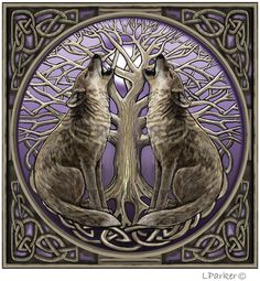 Lisa Parker - Moongazing Wolves