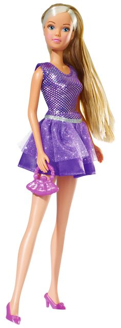 #simbatoys #steffilove #pink #doll #cute #toys #funtime #kids #party #bling #dress #cute #Purple