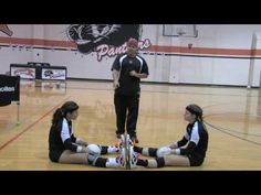 Volleyball Setting Drill Multiple Balls 1 - YouTube
