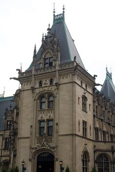 Entrance to the Biltmore Estate in Asheville, NC