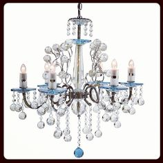 Chandeliers make any room instantly glamorous, which room would you hang this in? #chandelier #lighting #home #homedecor #interiordecor #decor  @Creative Creations, Inc. USA