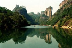 Mount Wuyi is situated in Chinese province Fujian and it is a place of extraordinary biodiversity. Someone can find a large number of ancient and endemic species living in that area.