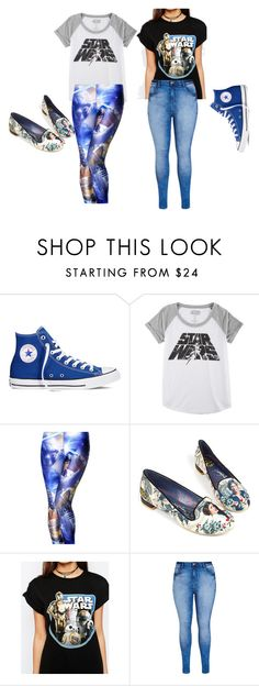 """""""Star Wars"""" by chymartinez on Polyvore featuring Converse, Hybrid, Irregular Choice, ASOS and City Chic"""