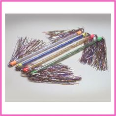 Glitter Batons. You thought you were a gymnast!