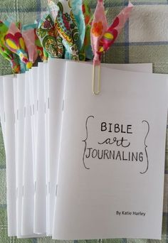 Click here to download a free copy of my mini book Bible Art Journaling by Katie Harley by karen.x