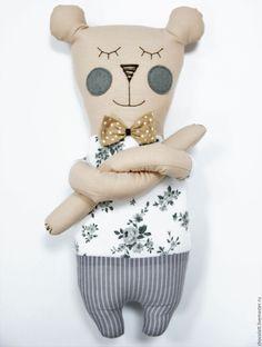 Купить Мишка Майк - комбинированный, бортики в кроватку, бортики, 2016 год, мишка, медведь, сплюшка, новорожденному