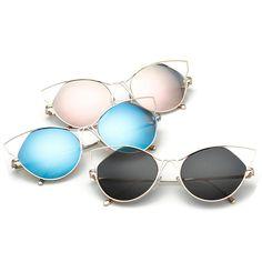 3e2e118a98 Famous Cat Eye Sunglasses - Vogue Style