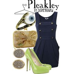 """Pleakley"" by lalakay on Polyvore"
