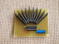 This was finished months ago and just now I had time to finish the article. is a dedicated IC for VU LED meter. Led Projects, Electrical Projects, Simple Electronics, Electronics Projects, Column Lights, Electronic Circuit Projects, Free To Use Images, Shop Layout, Arduino