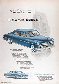 171 best dodge 1950 1955 images on pinterest antique cars 1950 dodge custom sedan publicscrutiny Choice Image
