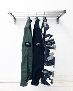 """tumblinginn: """"They're back! MKI BADGE FATIGUE OVERSHIRTS   £65   Are back in full stock in OLIVE, BLACK & MONO CAMO in store & online now… WWW.MKISTORE.COM #MKISTORE """""""