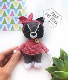 coniglietto Amigurumi tutorial - schema/How to crochet a rabbit ... | 278x236