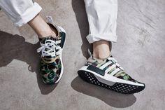 adidas Originals x BAPE 2016 Fall Winter Collection A Bathing Ape Three Stripes Japan Germany Camo Ape Head