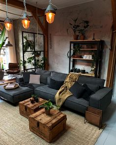 Warm and Comfortable Modern Living Room Design living room, living room design, living room styles, living room decor, living room ideas Home Living Room, Living Room Designs, Living Room Decor, Budget Home Decorating, Elegant Homes, Living Room Inspiration, Home Interior Design, Masculine Living Rooms, Modern Living