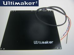 Ultimaker 2 Heat Bed (Wire harness included)  $ 90 and FREE Shipping Worldwide    http://www.bricksmonster.com/?product=ultimaker-2-heat-bed-wire-harness-included    #ultimaker #3dprinting #3dprinter    Tag someone who may need this Ultimaker 2 replacement part
