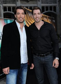 Property brothers: Jonathan and Drew Scott