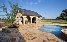 Rustic Timber Frame Home on TX Ranch