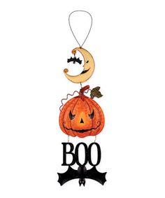 'Boo' Halloween Sign