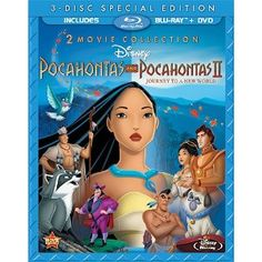 Pocahontas Two-Movie Special Edition (Pocahontas / Pocahontas II: Journey To A New World) (Three-Disc Blu-ray/DVD Combo in Blu-ray Packaging) - Price: 	$27.86