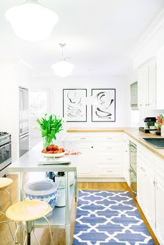 A pristine kitchen makeover | domino.com