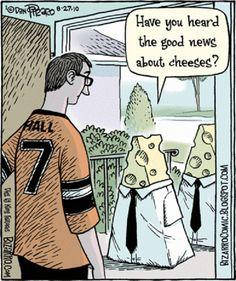 Humor - Years Of Dan Piraro Vegan, anti-vivisection, tree-friendly, environmentally-friendly cartoons - from Dan Piraro of Bizarro. Funny Puns, Funny Cartoons, Funny Quotes, Hilarious, Funny Stuff, Humor Quotes, Funny Things, Bizarro Comic, Religious Humor
