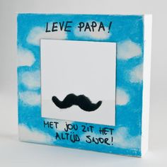 Voor papa! Met jou zit het altijd snor. Diy For Kids, Gifts For Kids, Origami, Fathers Day Crafts, Original Gifts, Creative Kids, Happy Father, Kids And Parenting, Diy Gifts