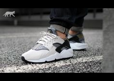 Nike Air Huarache (light ash grey / black - cool grey)